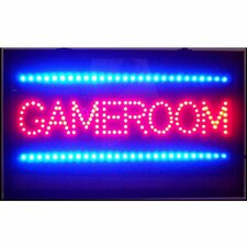Game Room LED Sign
