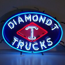 Diamond T Trucks Neon Sign