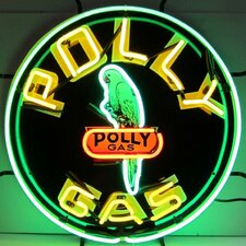 <strong>Neonetics</strong> Polly Gas Neon Sign