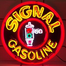 Signal Gasoline Neon Sign
