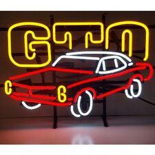 Cars & Motorcycles GM GTO Neon Sign