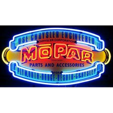 <strong>Neonetics</strong> Car & Motorcycles Mopar Vintage Shield Neon Sign