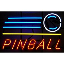 Business Signs Pinball Shot Neon Sign
