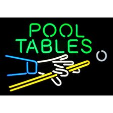 <strong>Neonetics</strong> Pool Tables Neon Sign