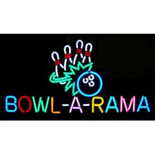 <strong>Neonetics</strong> Bowl-A-Rama Neon Sign