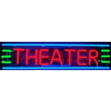 <strong>Neonetics</strong> Theater Neon Sign