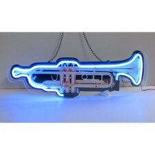 <strong>Neonetics</strong> Trumpet Neon Sign