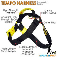 Tempo Dog Harness