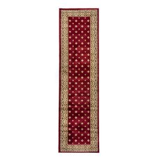 Barclay Red Hudson Terrace Traditional Rug