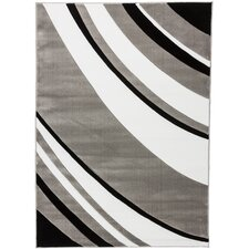 Melody Grey Tether Contemporary Rug