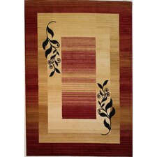 Dulcet Red Whisper Twigs Rug