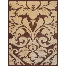 Melody Beige Royal Damask Rug