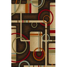 Kings Court Black Prescott Rug