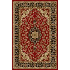 Kings Court Red Depak Medallion Rug
