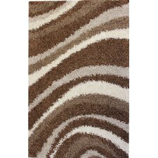 Madison Shag Brown Sandbar Rug