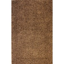 Madison Shag Coffee Bean Plain Rug