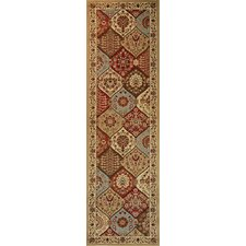 Barclay Ivory Wentworth Panel Traditional Rug