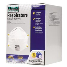 Dust Disposable Respirators (20 Pack)