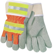 <strong>Safety Works LLC</strong> Large Hi-Viz Palm Workglove