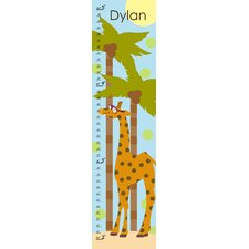 Giraffe's Summer Personalized Growth Chart