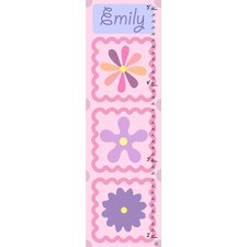 Little Flowers Personalized Growth Chart