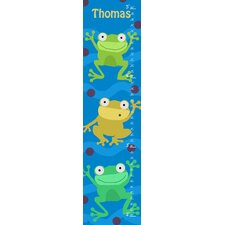Frogs Personalized Growth Chart