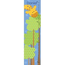 Giraffe's Tree Personalized Growth Chart
