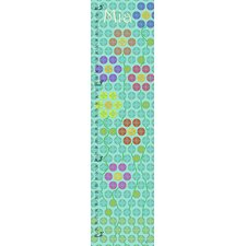 Floral Personalized Growth Chart