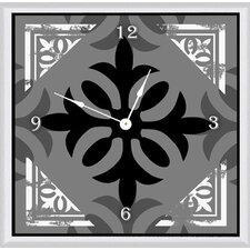"<strong>Green Leaf Art</strong> I 20"" Art Wall Clock"