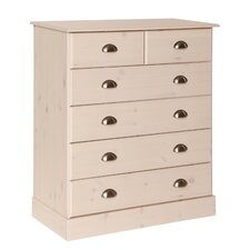 Terra 2 Over 4 Drawer Chest