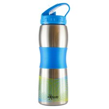 <strong>Cheeki</strong> Cheeki 600ml 20oz Wide Mouth Ergonomic Stainless Steel Sports Water Bottle - BPA Free