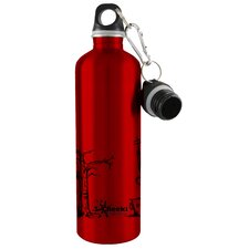 Cheeki 750ml 25oz Stainless Steel Water Bottle - City Red - BPA Free