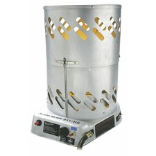 Portable 60,000 BTU Convection Tank Top Natural Gas Space Heater
