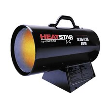 30,000 / 55,000 BTU Forced Air  Propane Space Heater