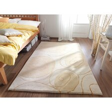 Impression Ivory / Gold Knotted Rug