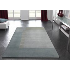 Impression Light Blue Knotted Rug