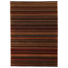 Stripes Multi Knotted Rug
