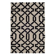 Cordoba Grey / Black Tufted Rug