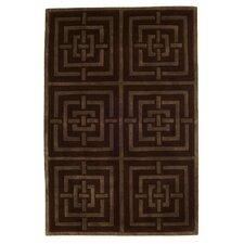 Comfort Brown Tufted Rug I