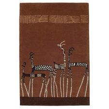 Kalahari Brown Tufted Rug