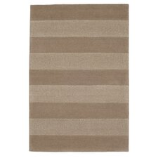 Stripes Brown Tufted Rug