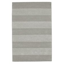 Stripes Grey Tufted Rug