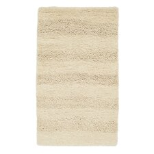 Caress Waves Ivory Shag Rug