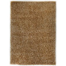 Plain Brown Shag Rug