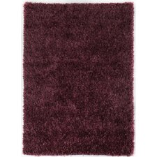 Ribbon Purple Shag Rug