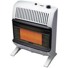 Vent Free 20,000 BTU Radiant Utility Liquid Propane Space Heater