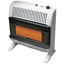 Vent Free 30,000 BTU Radiant Utility Liquid Propane Space Heater