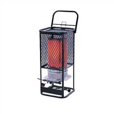 125,000 BTU Radiant Tank Top Portable Propane Space Heater