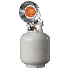 8,000 / 15,000 BTU Radiant Tank Top Propane Space Heater