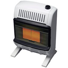10,000 BTU Radiant Wall/Floor Natural Gas Space Heater